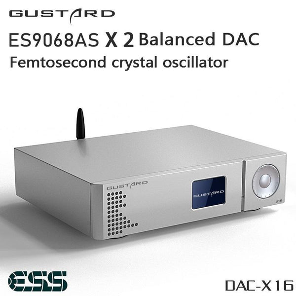Gustard X16 MQA DAC (Digital-to-Analog Converter)