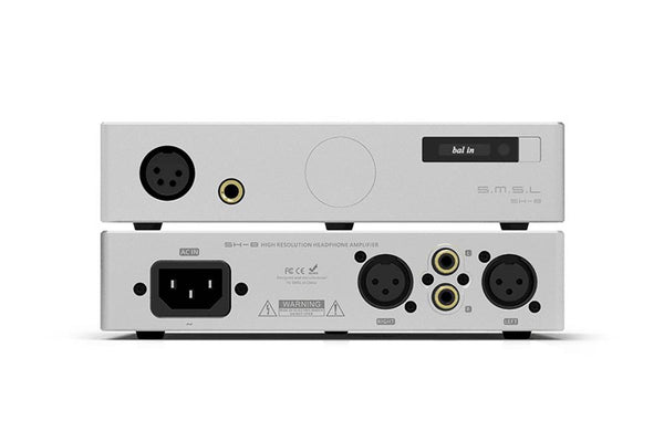 SMSL SH-8 6.35mm/Balanced High Performance RCA/XLR input SH8 HiFi Headphone Amplifier - Audiophile Store