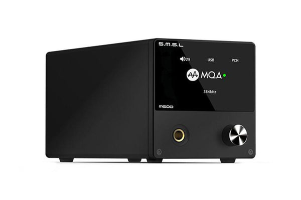 S.M.S.L M500 - MQA Decoding ES9038PRO DAC & Headphone Amplifier - Audiophile Store