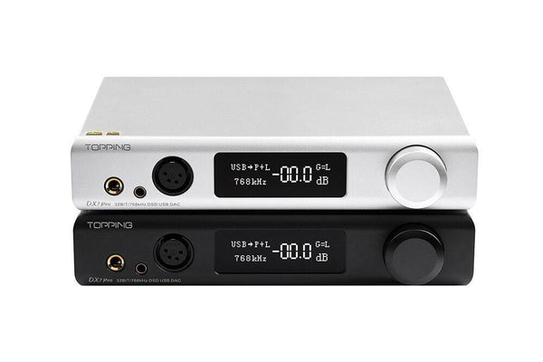 TOPPING DX7 Pro ES9038Pro DAC & Headphone Amplifier with Bluetooth 5.0