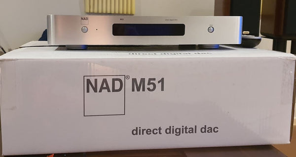 NAD M51 35-bit 844kHz full balanced HDMI DAC and Digital Preamplifier - Audiophile Store
