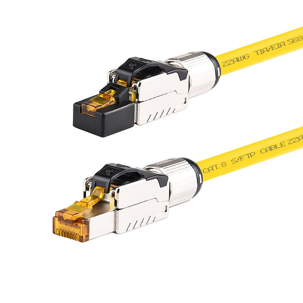 High-Performance Network RJ45 Ethernet Cable Cat8 Patch Cord - Audiophile Store