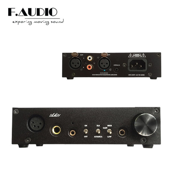 F.Audio - Fully Balanced Headphone Amplifier - Audiophile Store