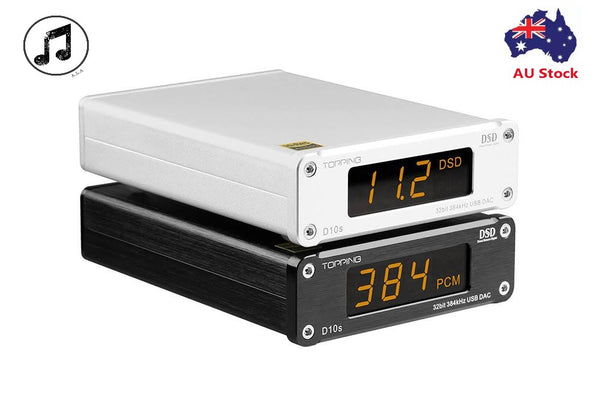 Topping D10S - ES9038Q2M DSD DAC Decoder - Topping Audio - Audiophile Store