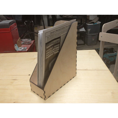 Magazine Box in use