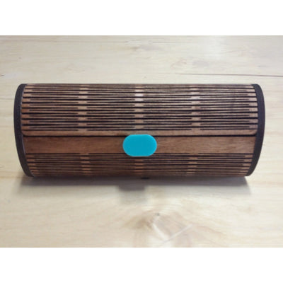 Wood Sunglass Case