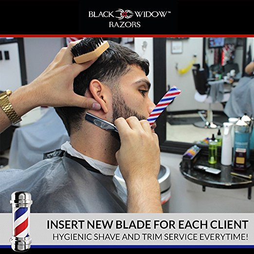 Black Widow® Barber Pole - Black Widow Razors