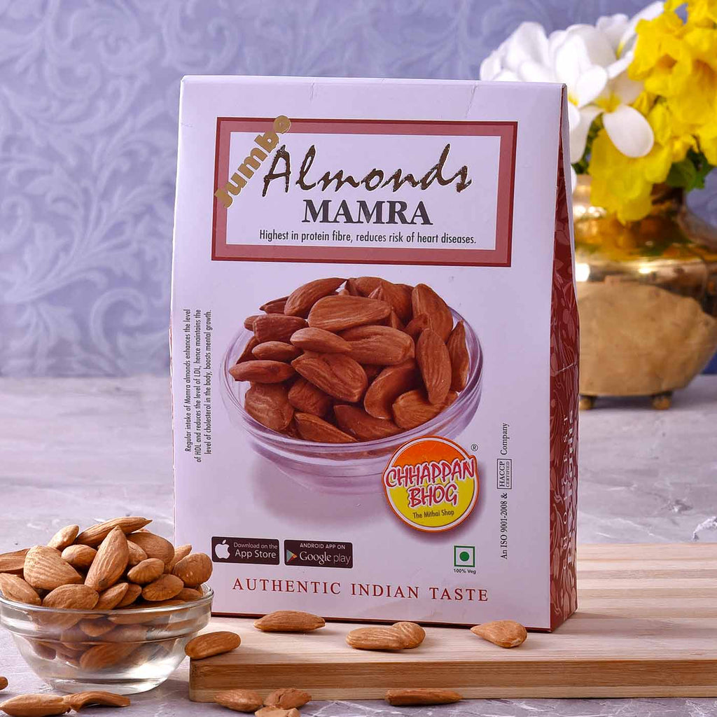 Delicious Jumbo Almond Mamra  Pack (250gm)