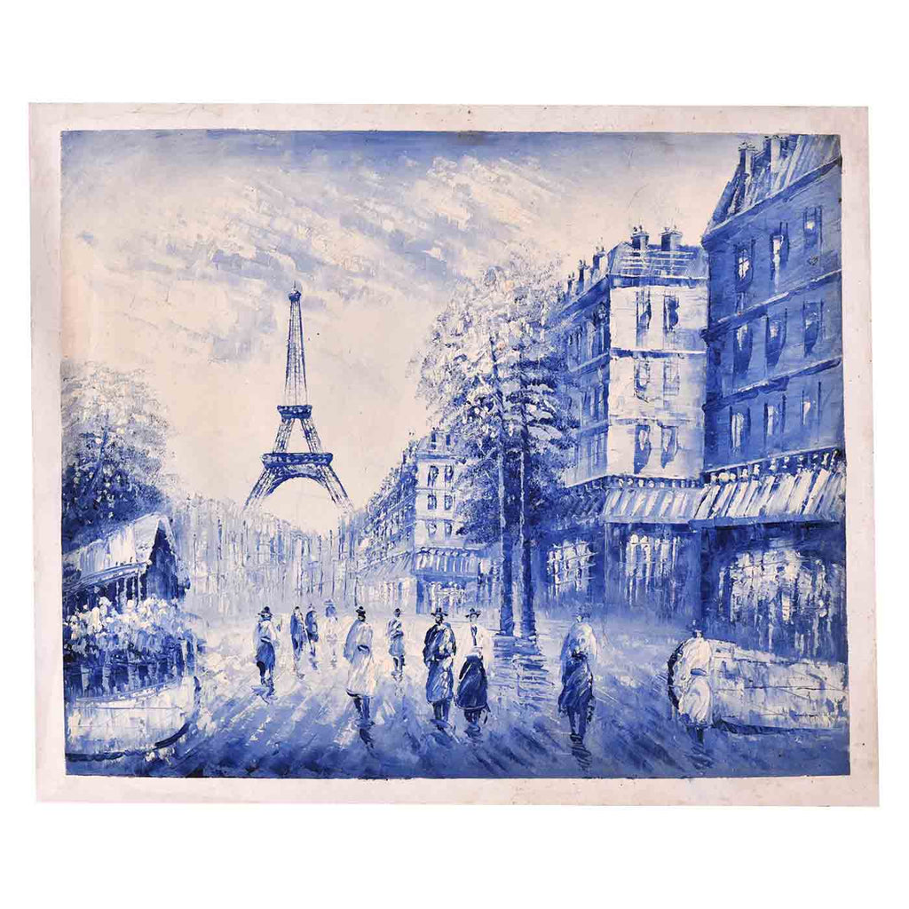 Scenic View Of Paris Painting