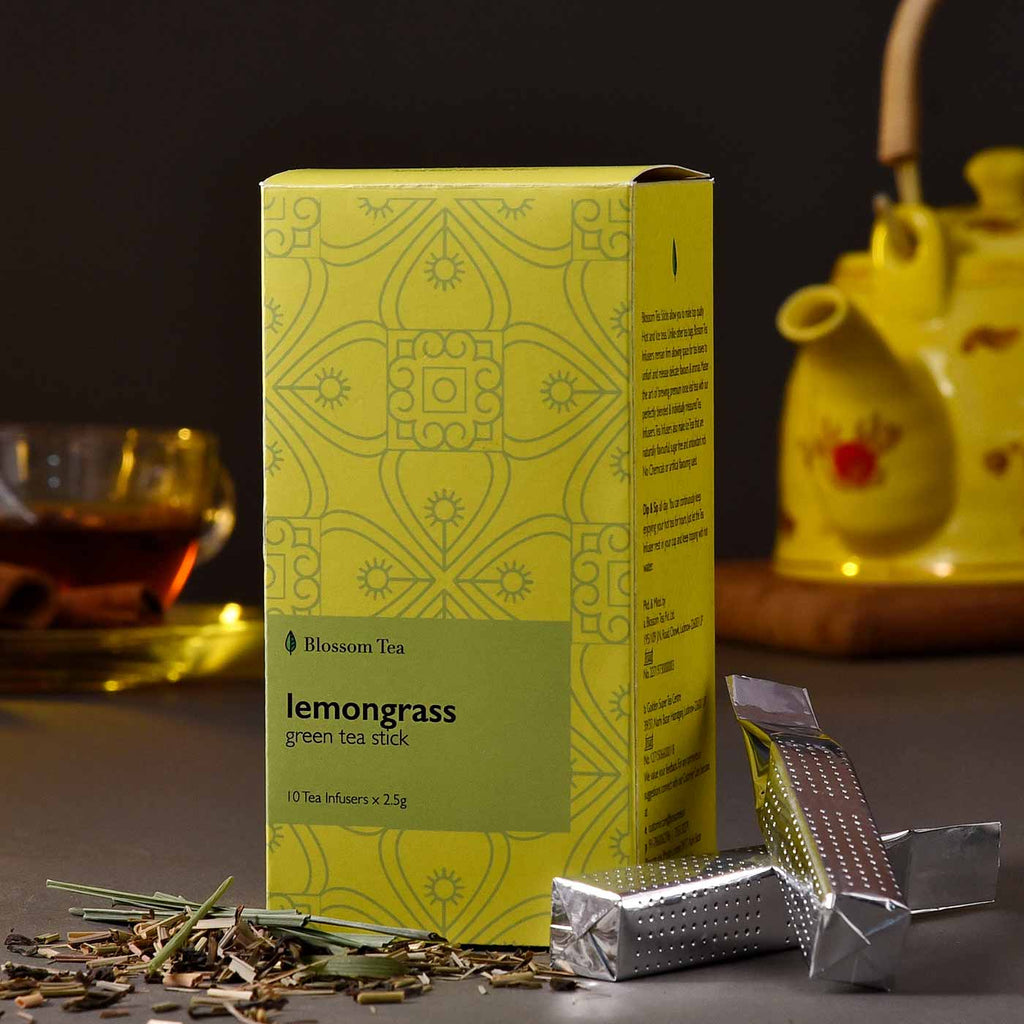 Nutritious Lemongrass Green Tea Sticks