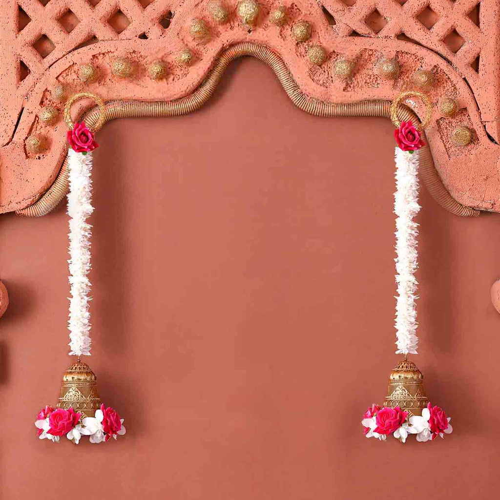 Exclusive Floral & Bell Pattern Toran