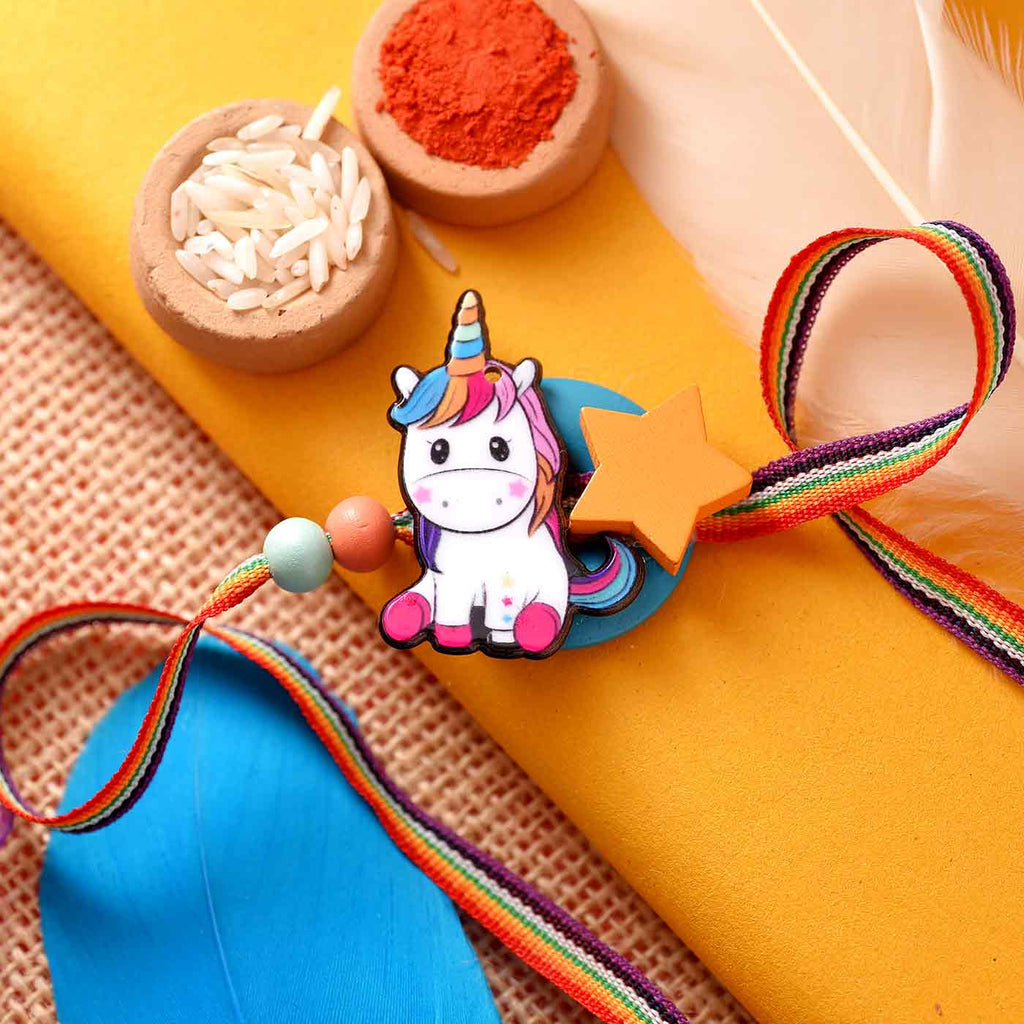 Enchanting Unicorn Rakhi