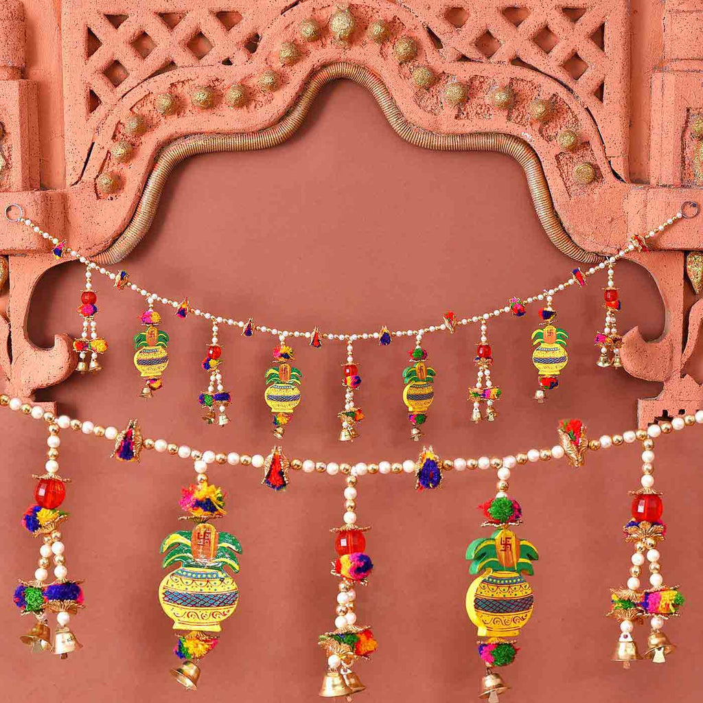 Ethnic Kalash & Beads Bandhanwar