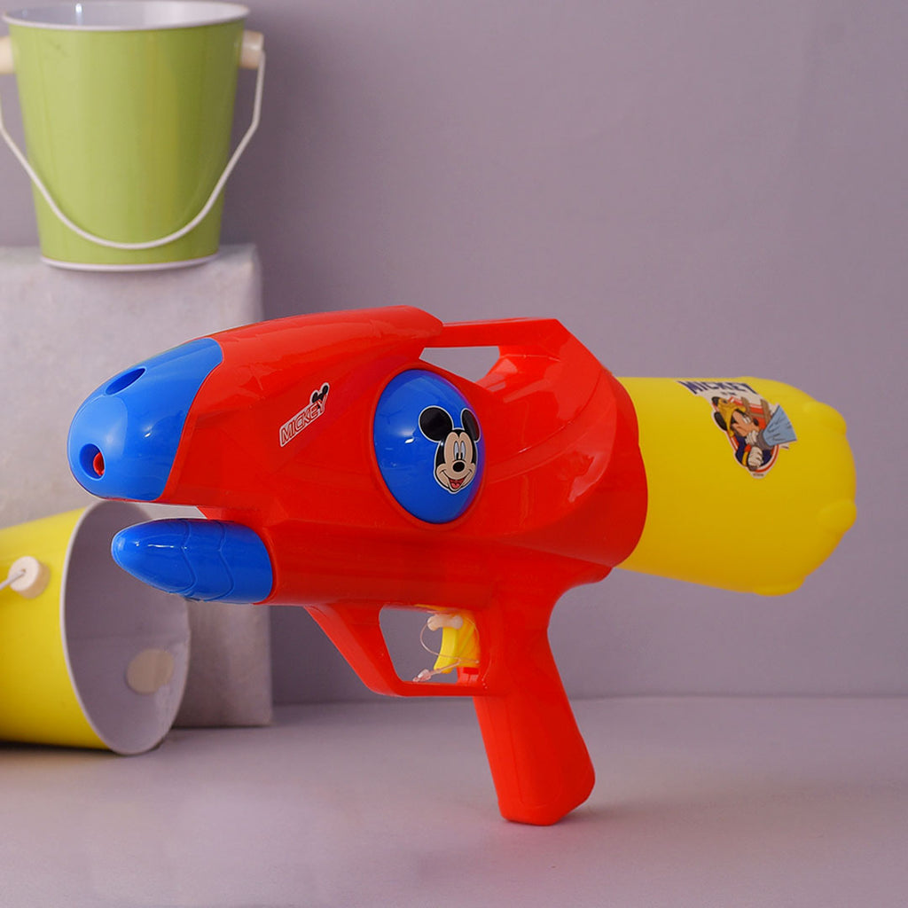 Kid's Holi Special Colourful Mickey Water Gun Pichkari