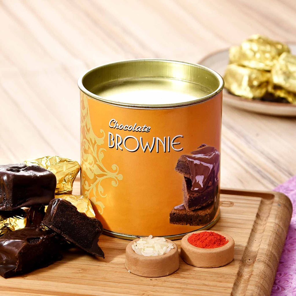 Delicious Brownie 100 gms with Tikka