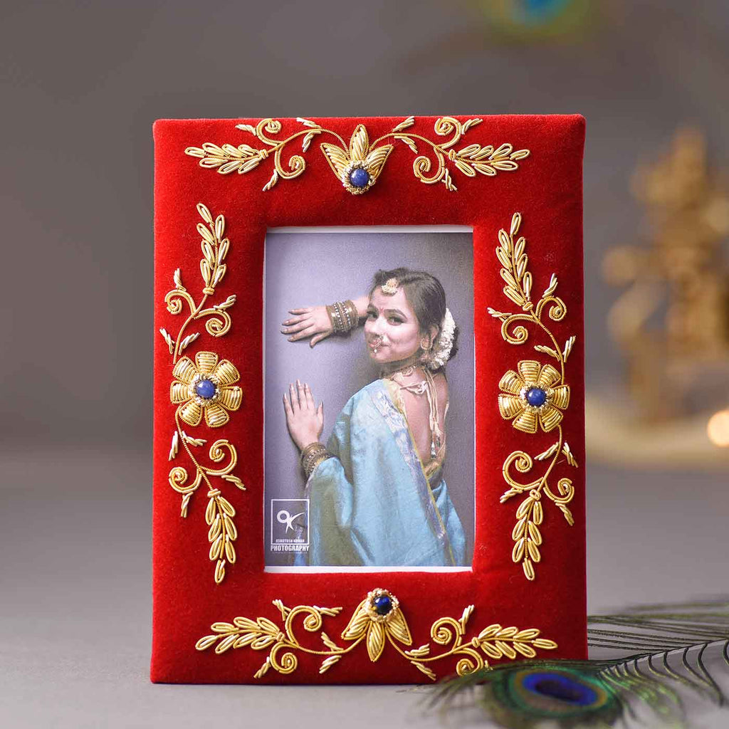 Intricate Design Wooden Photo Frame