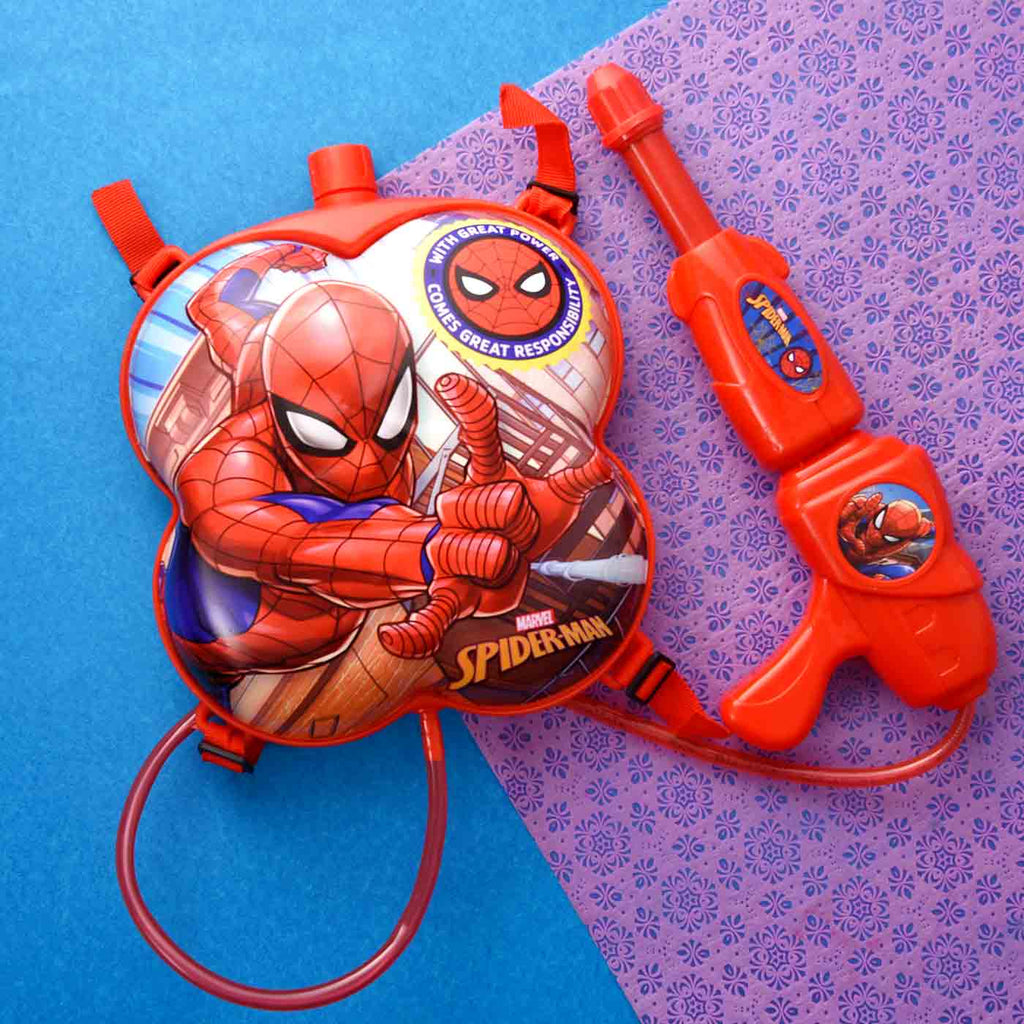 Superhero Spiderman Red Pichkari