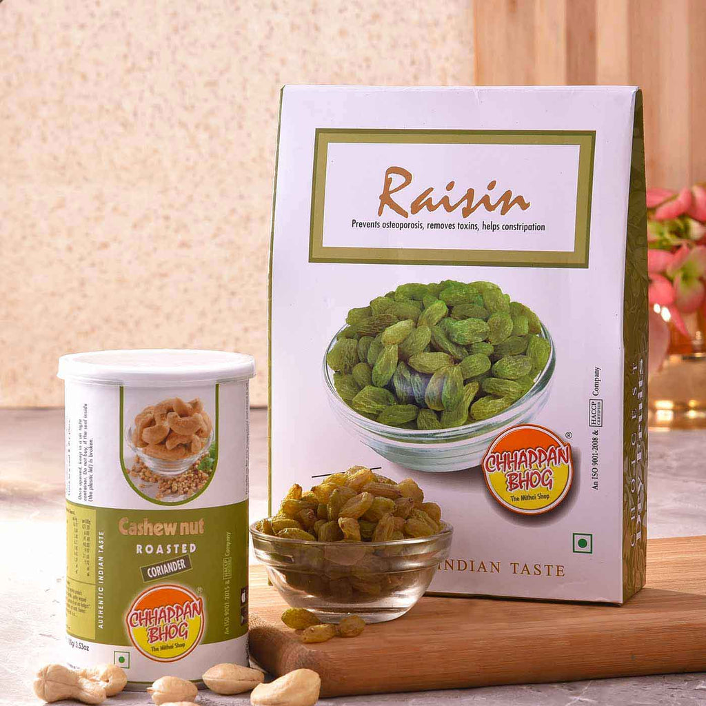 Gourmet Dry Fruit Cashew & Raisin Combo