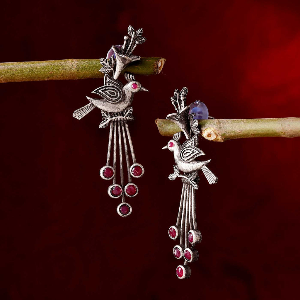 Pearls & Stone Work Rakhi Thread With Kaju Rolls & Almonds