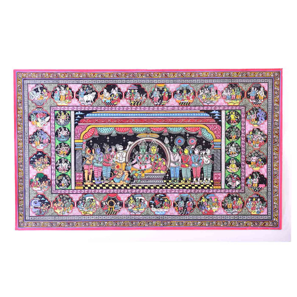 Ramcharitmanas Pattachitra Painting