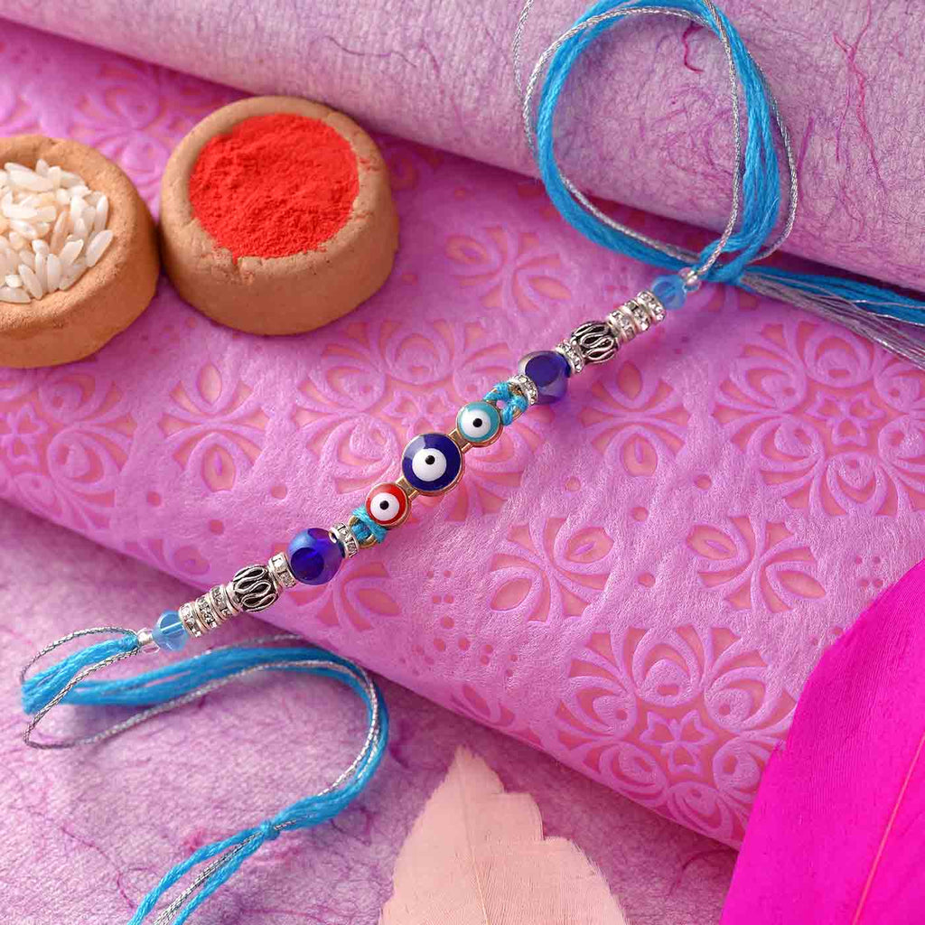 Stylish Evil Eye Rakhi