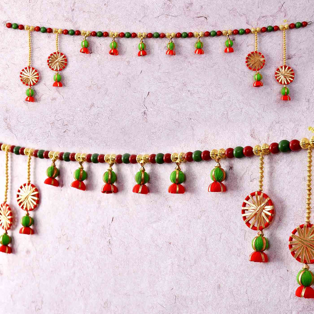 Beautiful Beads Gotta Work Bandhanwar