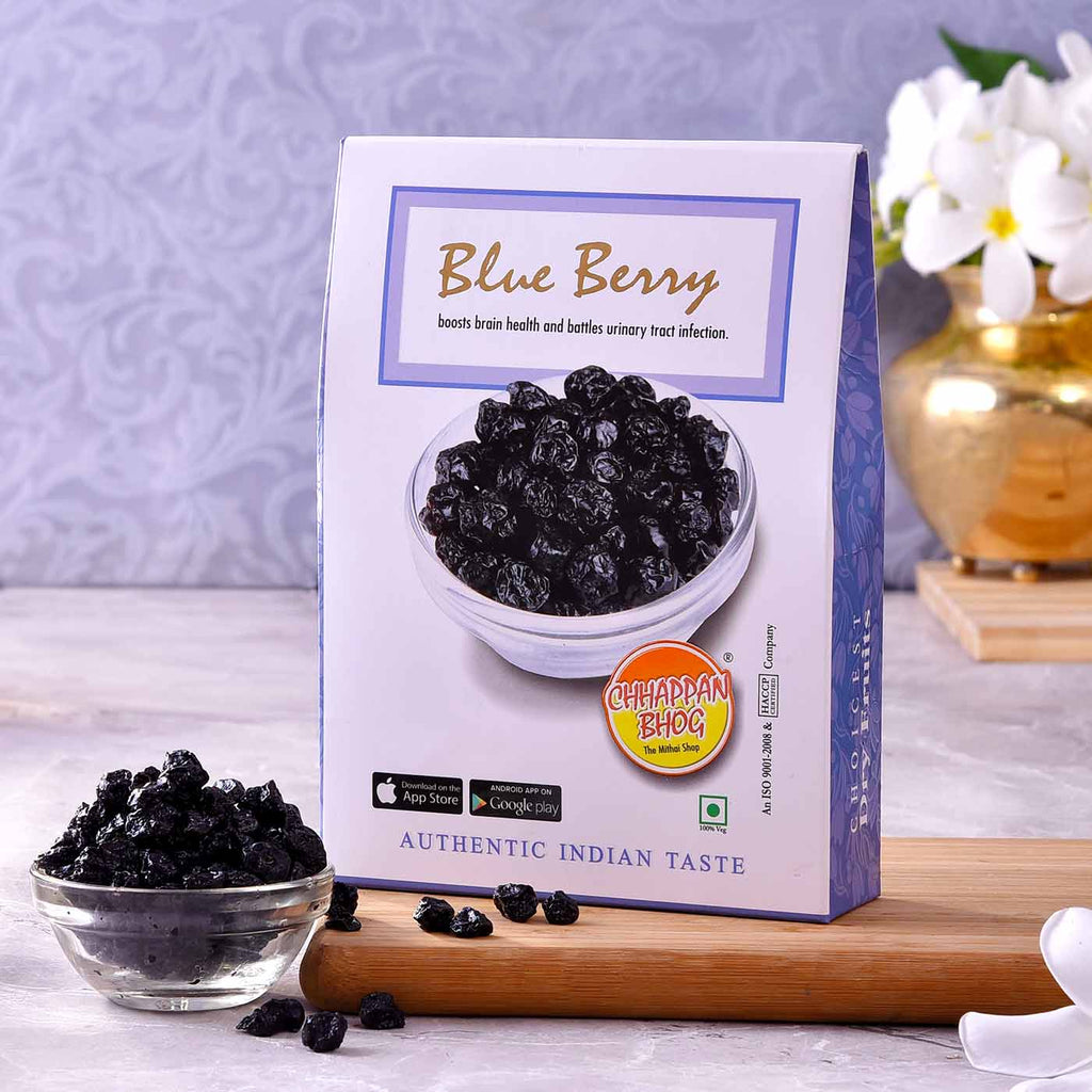 Exotic Blue Berries Pack (250gm)