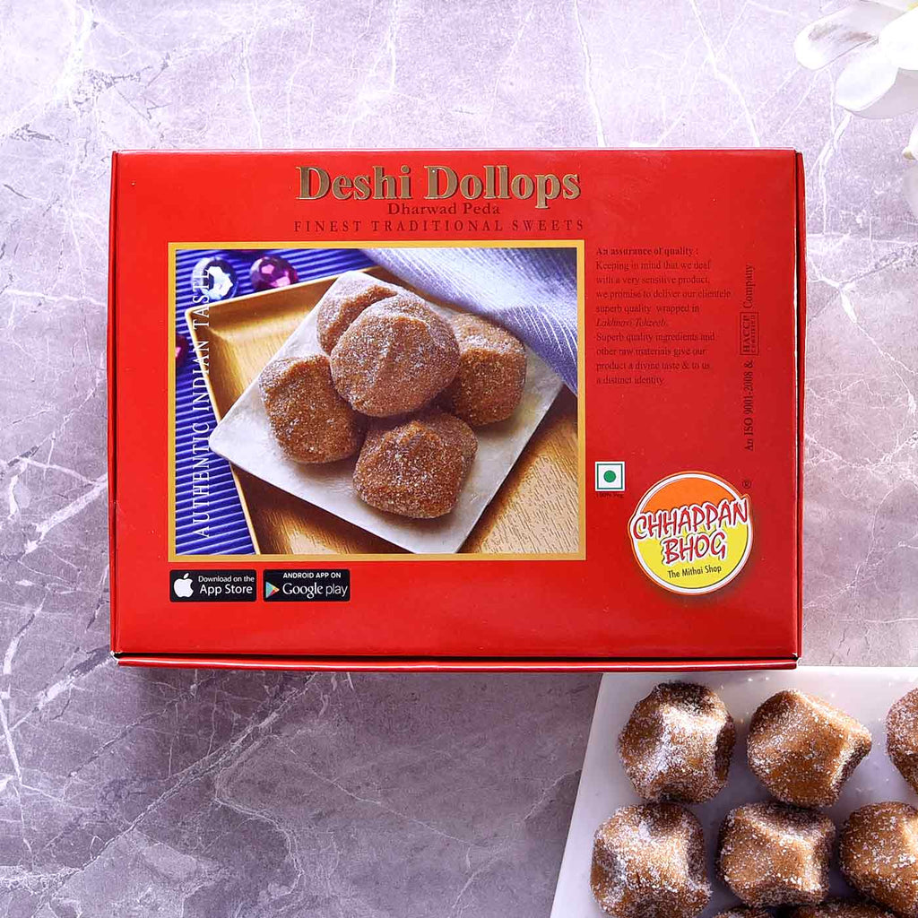 Delicious Box Of Desi Dollops