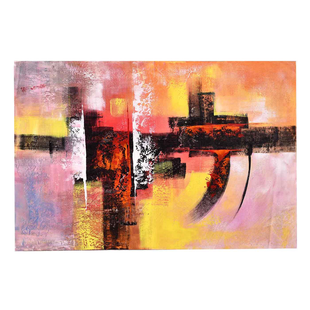 Warm Hues Canvas Painting