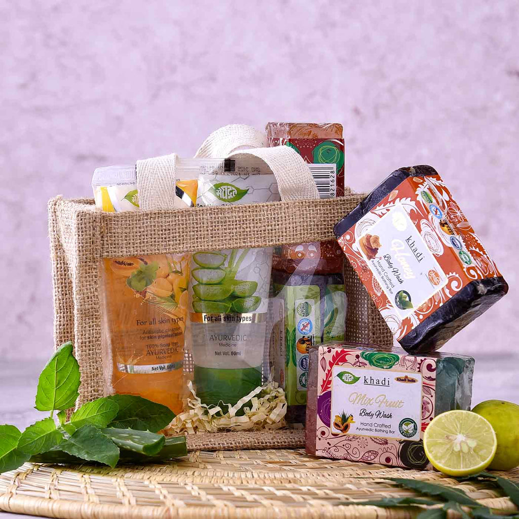 Revitalizing Khadi Skin Care Hamper