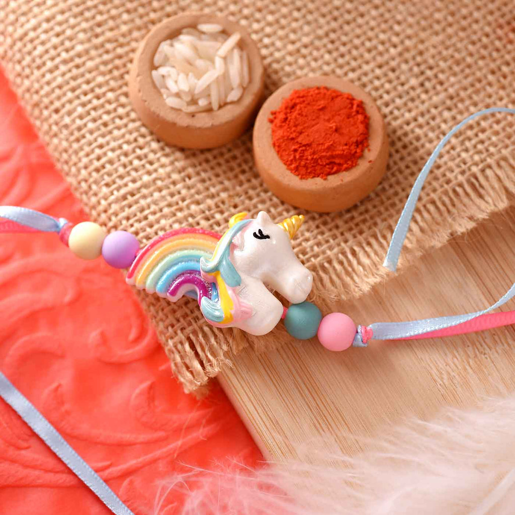 Charming Kid's Unicorn Rakhi