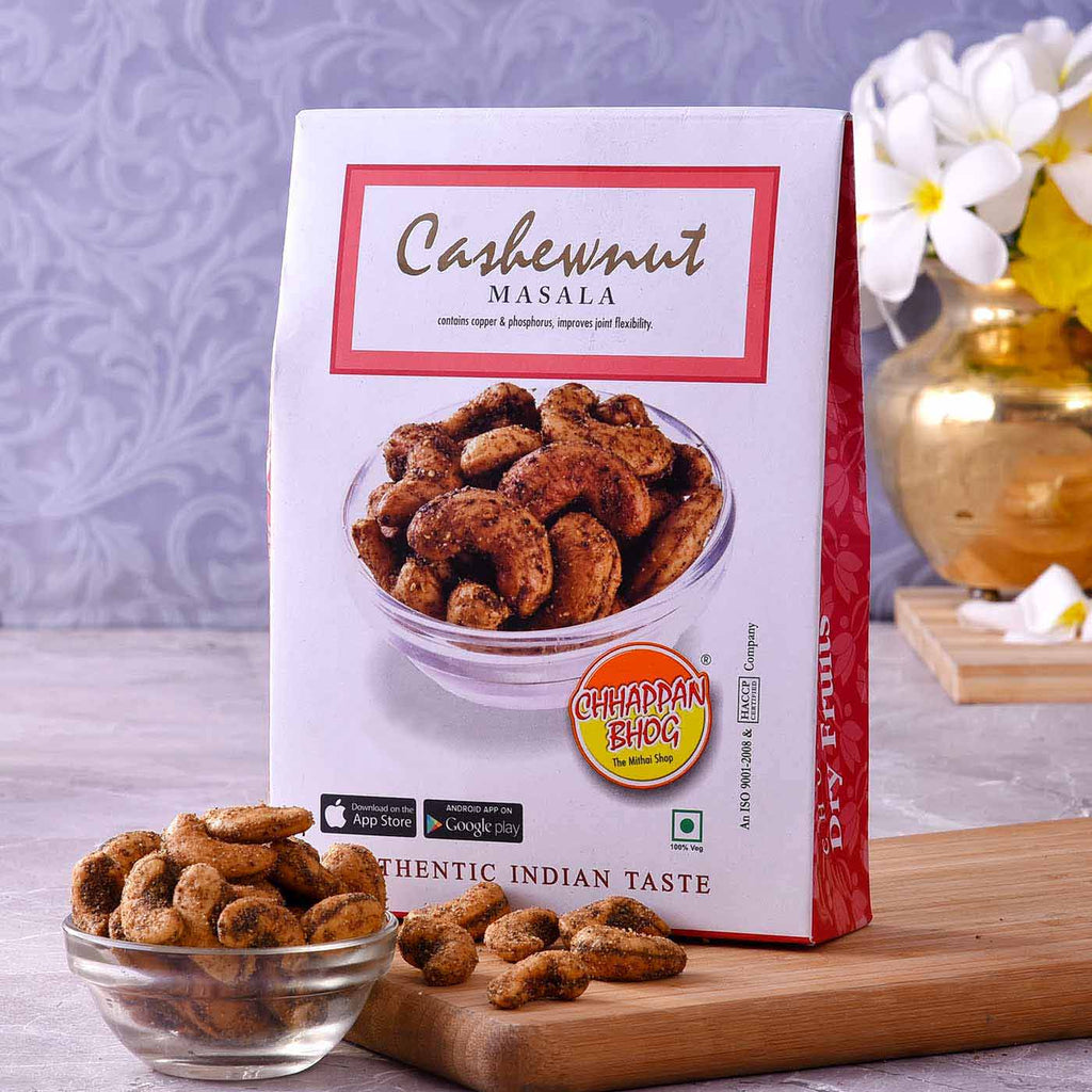 Delicious Tangy Masala Cashews (250gm)