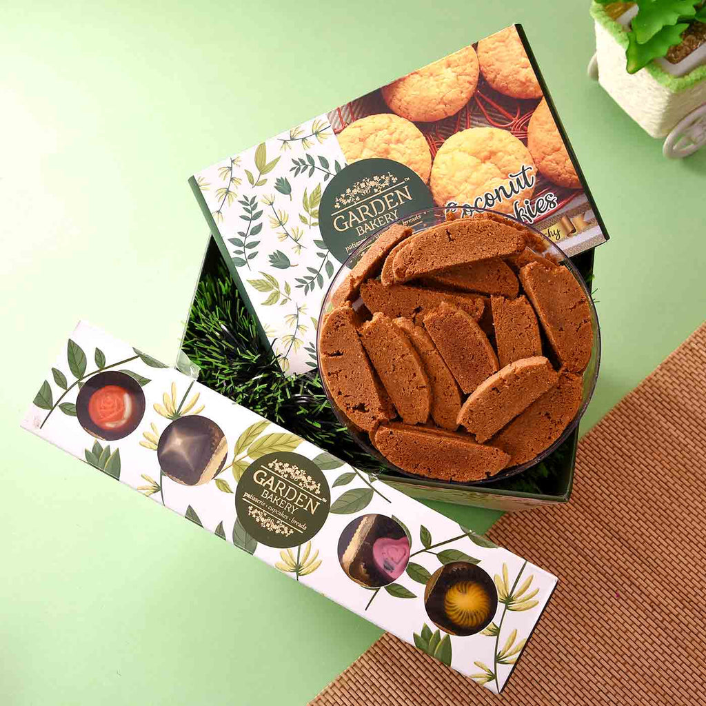 Premium Hamper Of Cookies & Chocolates