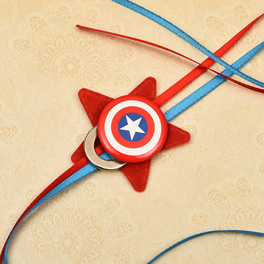 Smart Star Shape Kid's Rakhi