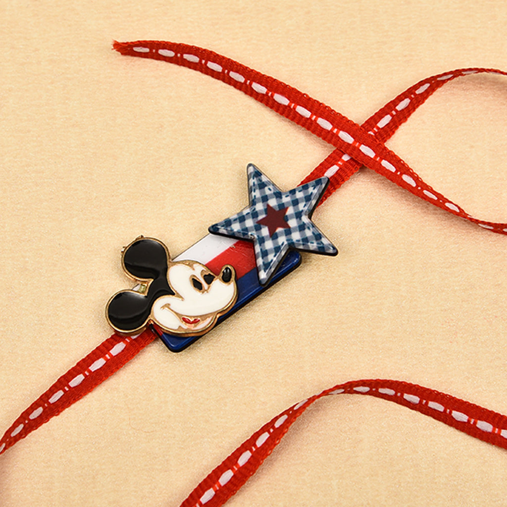 Adorable Mickey & Star Rakhi