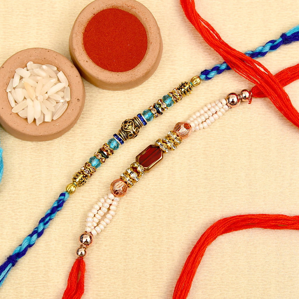 Beautiful Set Of 2 Rakhis