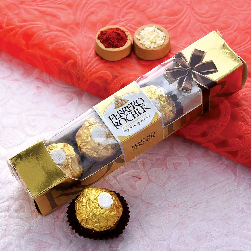 Ferrero Rochers 4 pcs with Tikka
