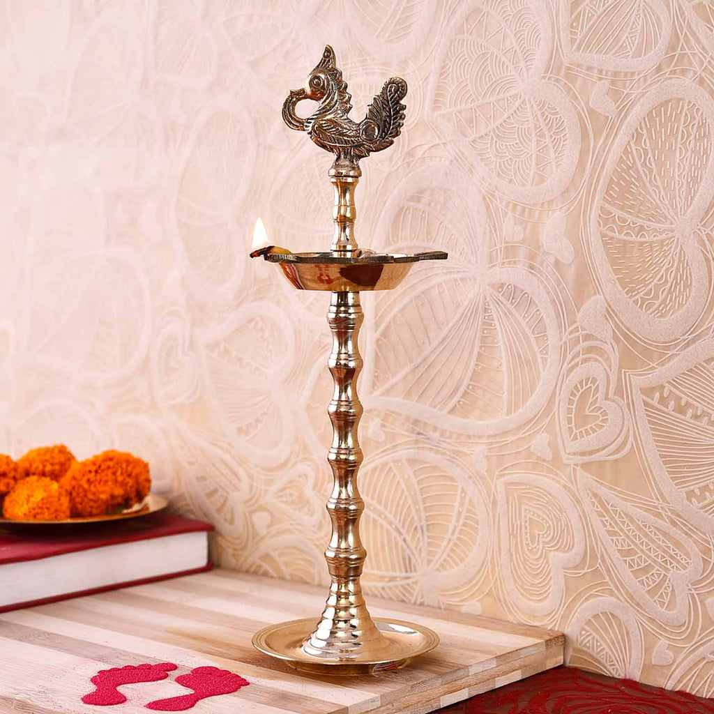 Sublime Rudrakshi Brass Deep (25 cm / 10 Inches)