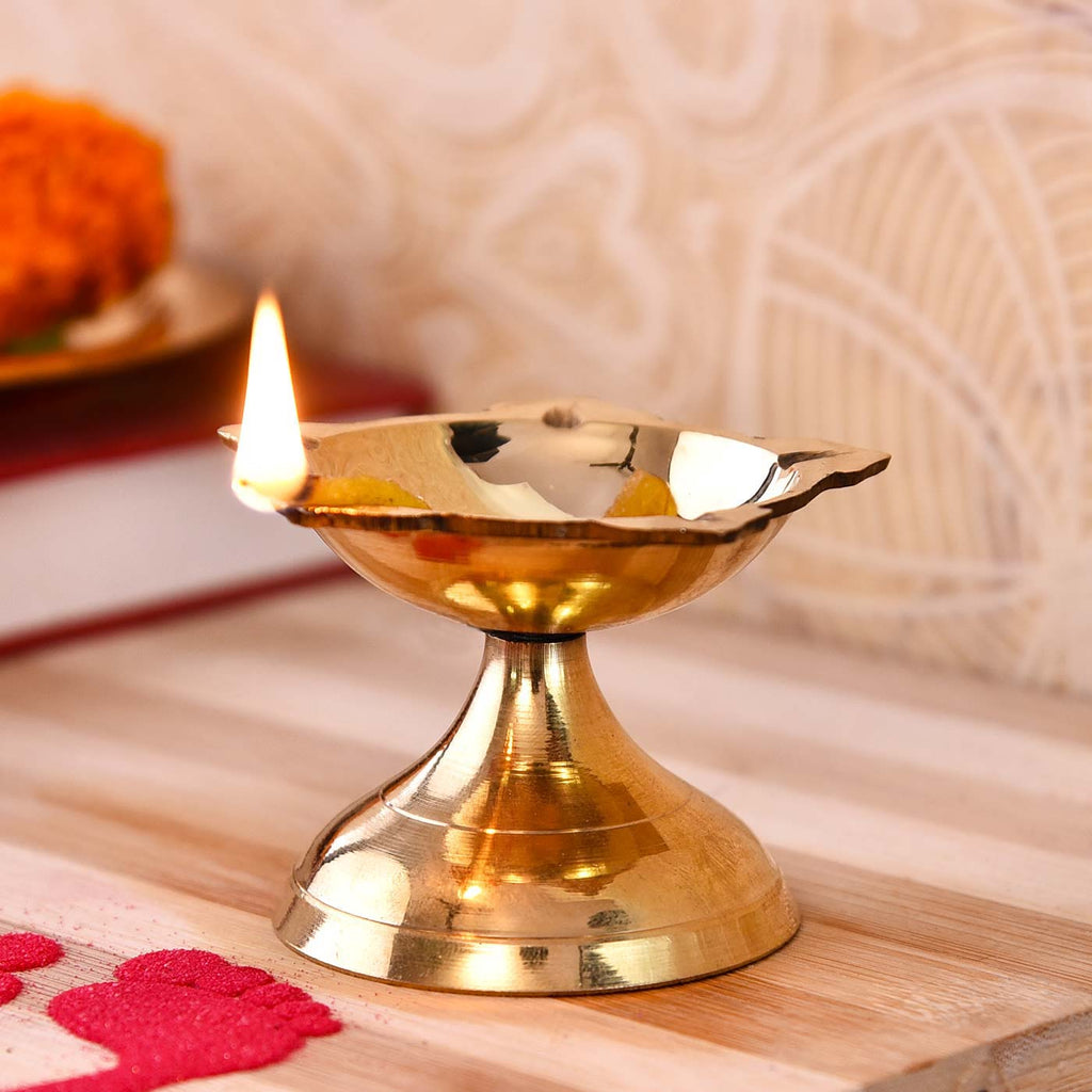 Elegant Poona Brass Deep (5 cm / 2 Inches)