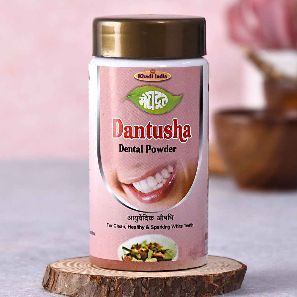 Khadi Dantusha Dental Powder