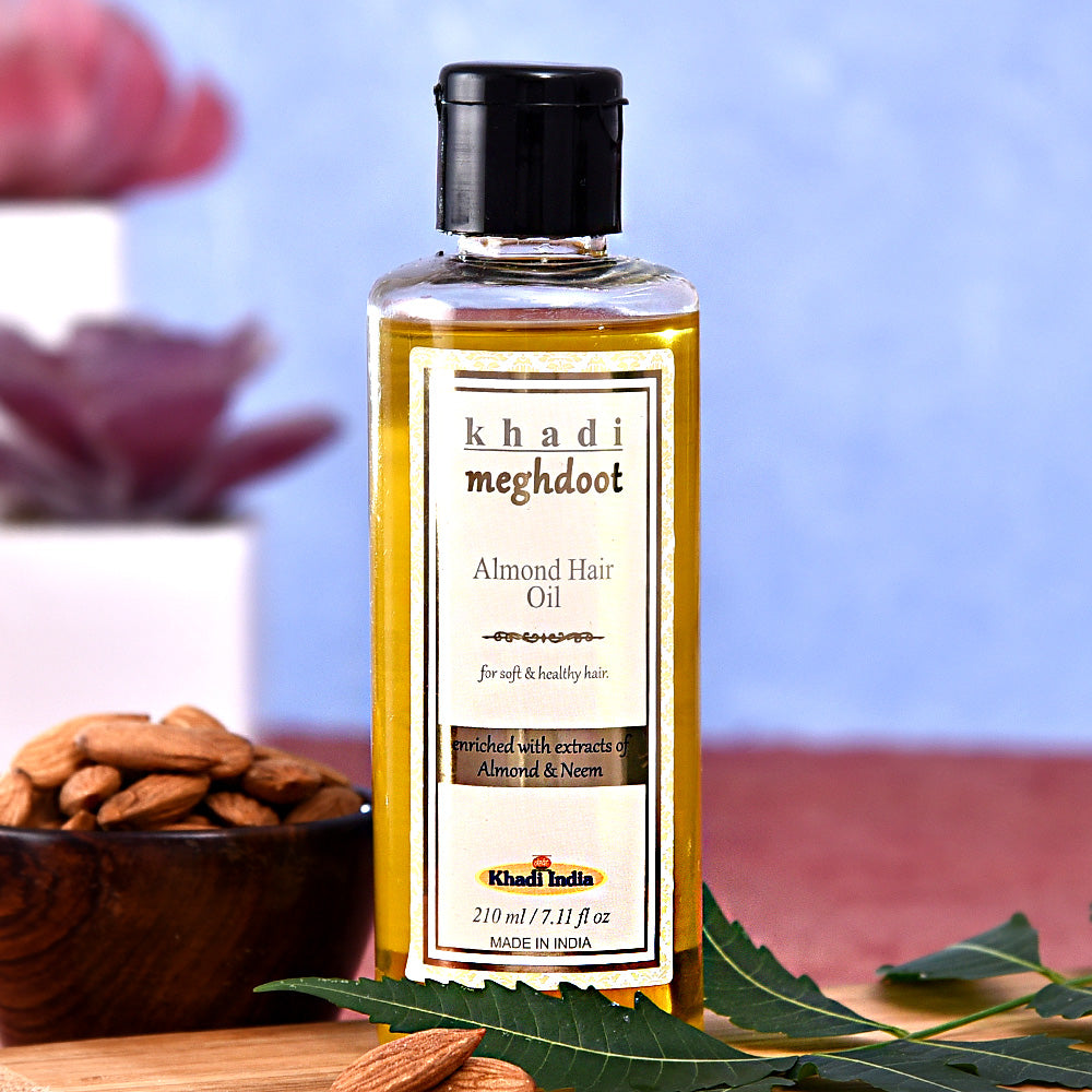 Khadi Almond Hair Oil