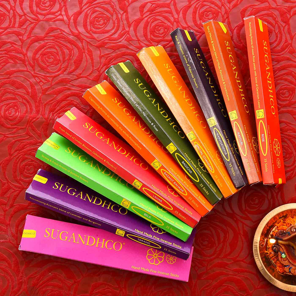 Pack Of 10 Aromatic Incense Sticks
