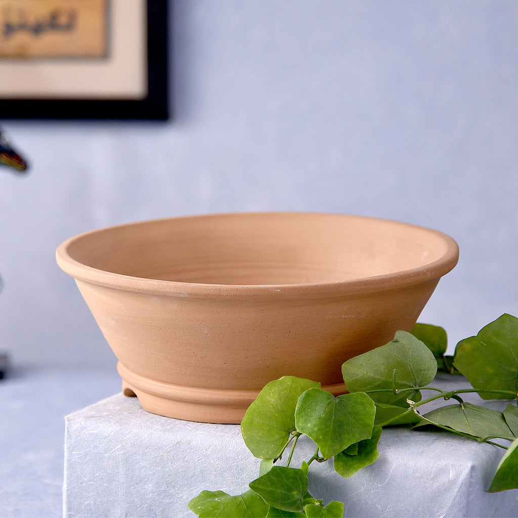 Earthy Bowl Shaped Handmade Pot