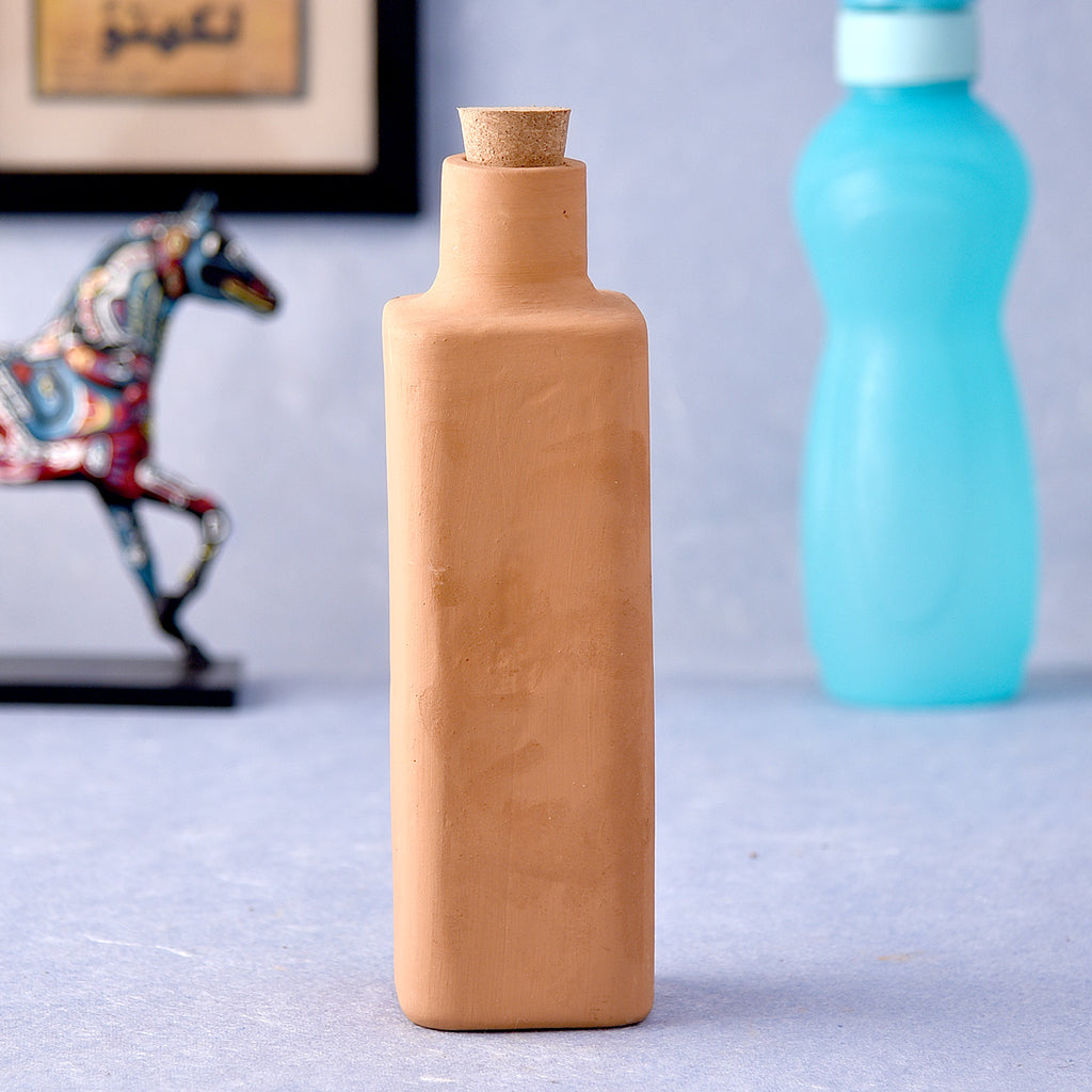 Eco-Friendly Clay Water Bottle
