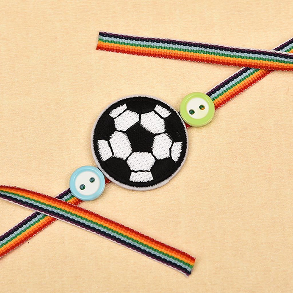 Funky Football Rakhi For Brother