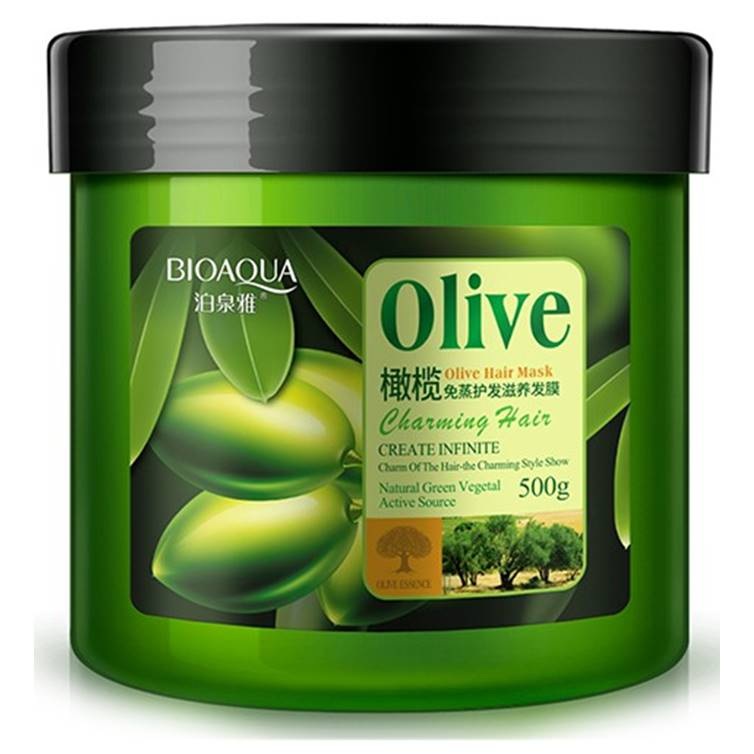 BIOAQUA Natural Olive Hair Soft Mask 500 gm