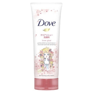 Dove Inner Glow Gentle Exfoliating Face Wash Cleanser 100g (Indonesian Origin)