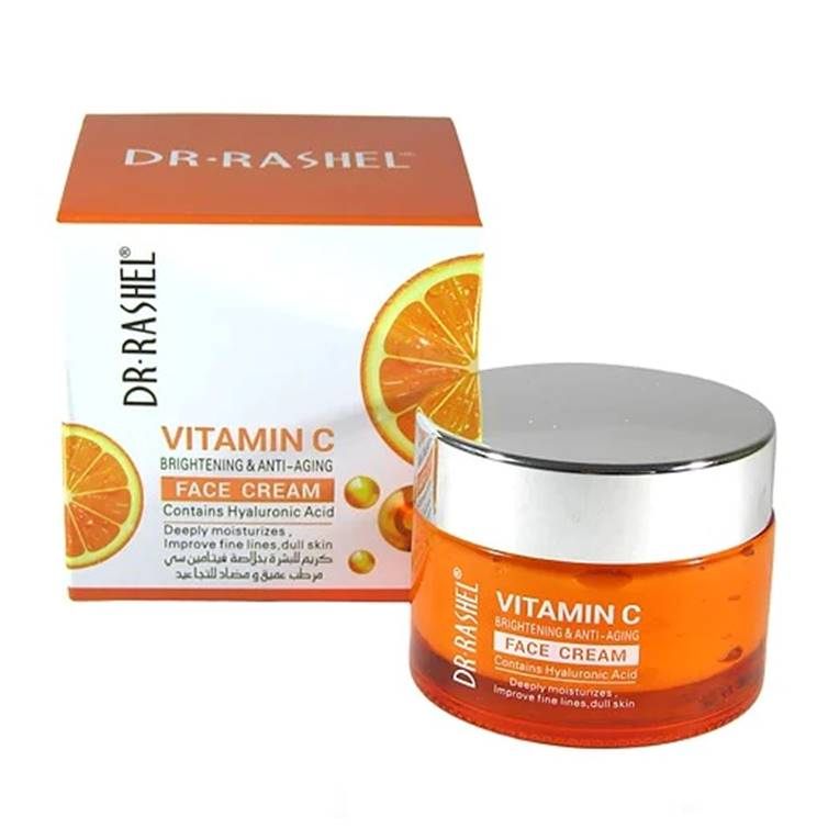 Dr. Rashel Vitamin C Brightening & Anti Aging Face Cream
