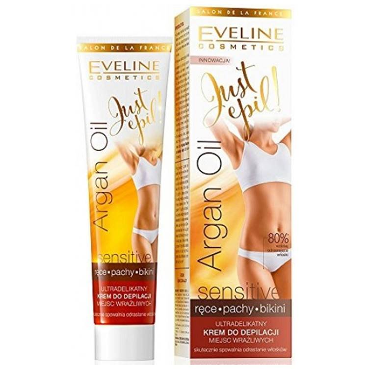 Eveline Argan Oil Depilatory Cream for Sensitive Skin 125 ml