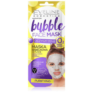 Eveline Bubble Face Sheet Mask Purifying